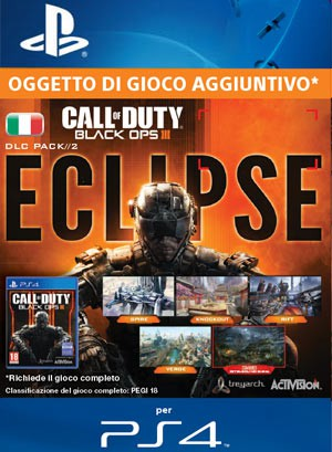 Copertina Call of Duty: Black Ops III - Eclipse - PS4