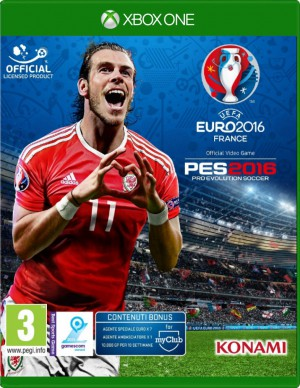 Copertina Pro Evolution Soccer 2016 - UEFA Euro 2016 - Xbox One