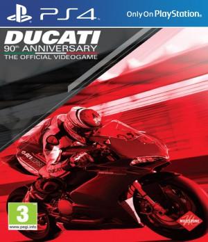 Copertina Ducati - 90th Anniversary - PS4