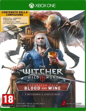 Copertina The Witcher 3: Blood & Wine - Xbox One