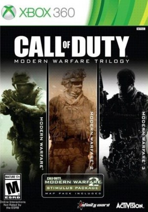 Copertina Call of Duty: Modern Warfare Trilogy - Xbox 360