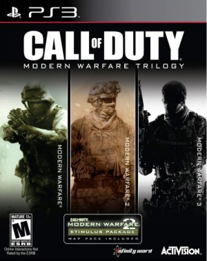 Copertina Call of Duty: Modern Warfare Trilogy - PS3
