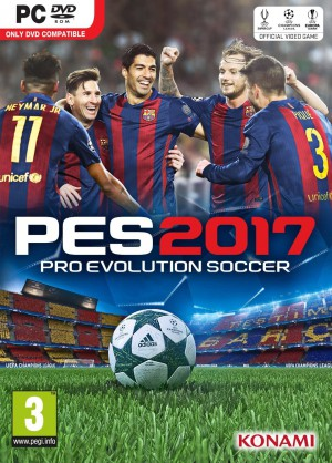 Copertina PES 2017 - PC