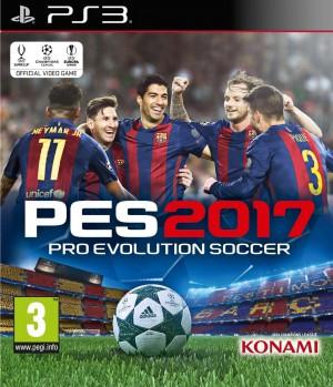 Copertina PES 2017 - PS3