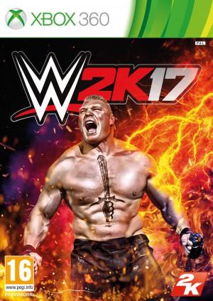 Copertina WWE 2K17 - Xbox 360