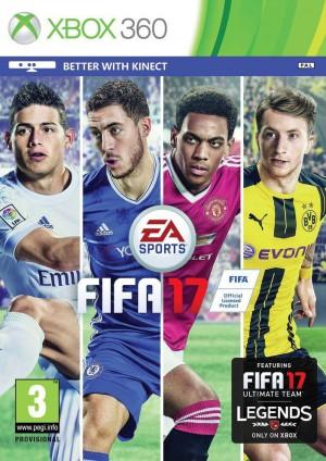 Copertina FIFA 17 - Xbox 360