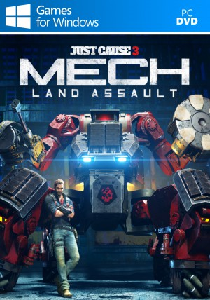 Copertina Just Cause 3 - Mech Land Assault DLC - PC