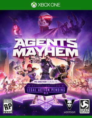 Copertina Agents of Mayhem - Xbox One