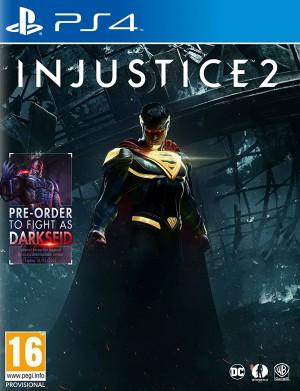 Copertina Injustice 2 - PS4