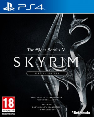 Copertina The Elder Scrolls V: Skyrim - Special Edition - PS4