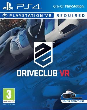 Copertina DriveClub VR - PS4