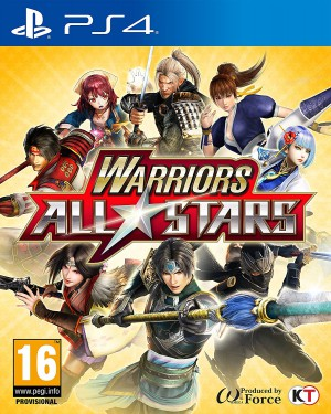 Copertina Warriors All-Stars - PS4