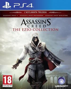 Copertina Assassin's Creed Ezio Collection - PS4