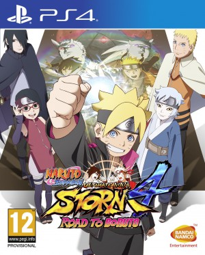 Copertina Naruto Shippuden Ultimate Ninja Storm 4 Road to Boruto - PS4