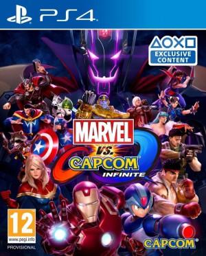 Copertina Marvel vs Capcom Infinite - PS4