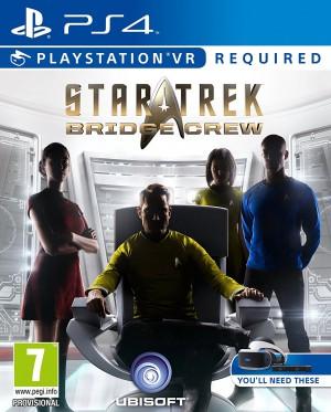 Copertina Star Trek Bridge Crew - PS4