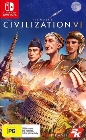 Copertina Sid Meier's Civilization VI - Switch