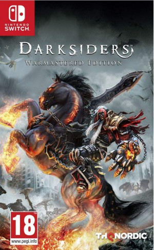 Copertina Darksiders: Warmastered Edition - Switch