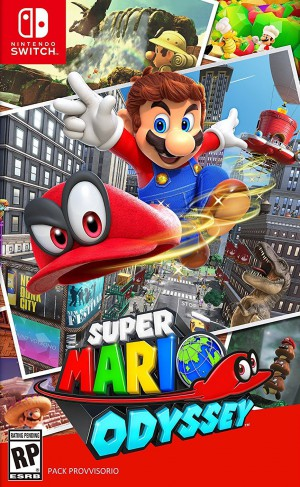Copertina Super Mario Odyssey - Switch