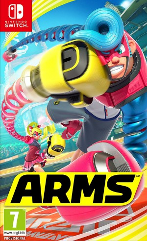 Copertina ARMS - Switch