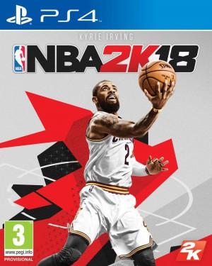 Copertina NBA 2K18 - PS4