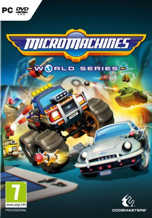 Copertina Micro Machines World Series - PC