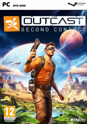 Copertina Outcast - Second Contact - PC