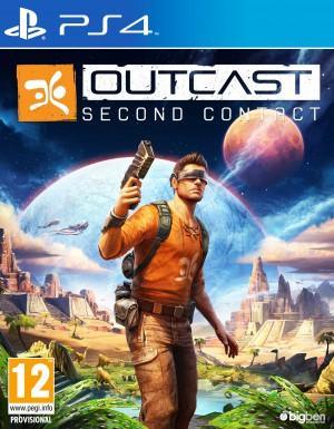 Copertina Outcast - Second Contact - PS4
