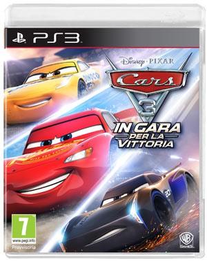 Copertina Cars 3: In Gara per la Vittoria - PS3