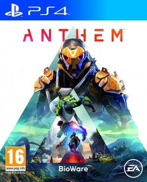Copertina Anthem - PS4