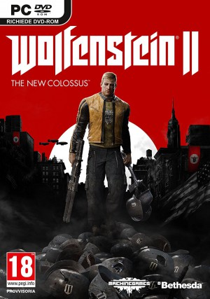 Copertina Wolfenstein II: The New Colossus - PC