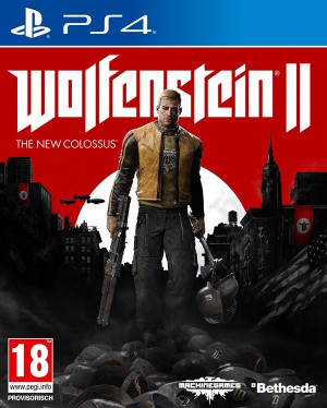 Copertina Wolfenstein II: The New Colossus - PS4
