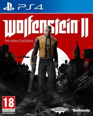 Copertina Wolfenstein II: The New Colossus - PS4