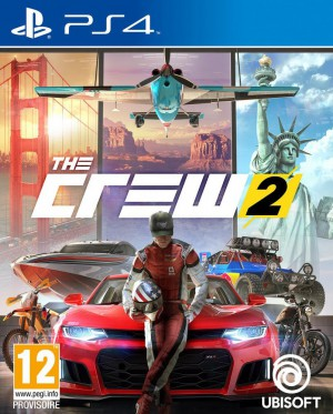 Copertina The Crew 2 - PS4