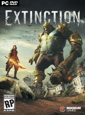 Copertina Extinction - PC