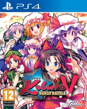 Copertina Touhou Kobuto V: Burst Battle - PS4