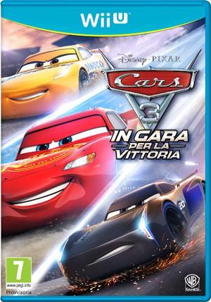 Copertina Cars 3: In Gara per la Vittoria - Wii U