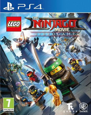 Copertina LEGO Ninjago il Film: Video Game - PS4
