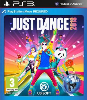 Copertina Just Dance 2018 - PS3
