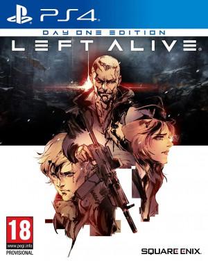 Copertina Left Alive - PS4
