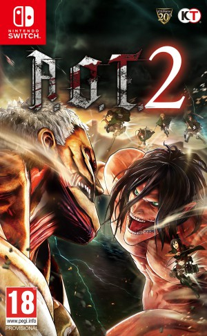 Copertina Attack On Titan 2 - Switch