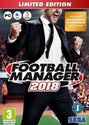Copertina Football Manager 2018 - PC