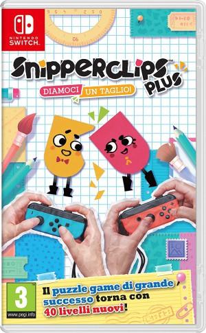 Copertina Snipperclips Plus: Diamoci un Taglio! - Switch