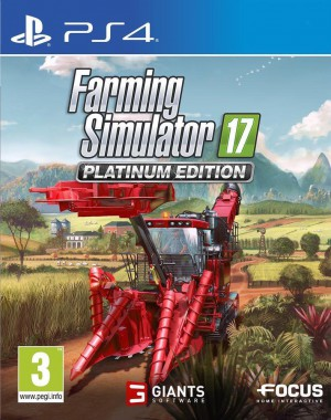 Copertina Farming Simulator 17 Platinum Edition - PS4