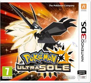 Copertina Pokémon Ultrasole - 3DS