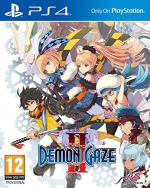 Copertina Demon Gaze II - PS4