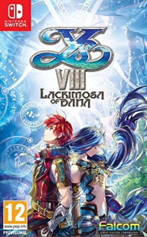 Copertina Ys VIII: Lacrimosa of Dana - Switch