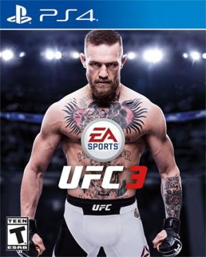 Copertina EA Sports UFC 3 - PS4