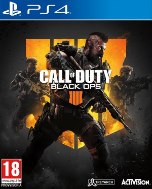 Copertina Call of Duty: Black Ops 4 - PS4