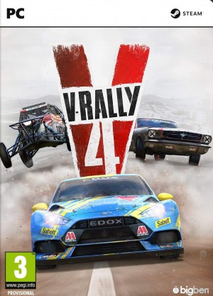 Copertina V-Rally 4 - PC